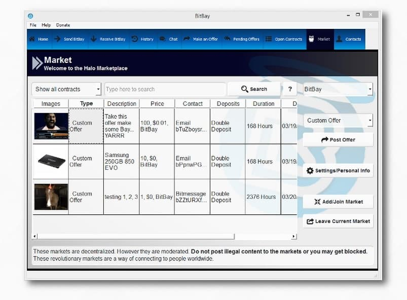 bitbay market